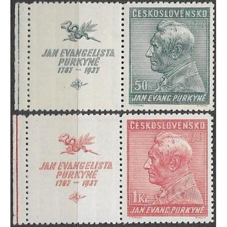 322-323./2/,KL, 150. výročí narození J.E.Purkyně,**,