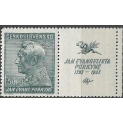 322.-,KP, 150. výročí narození J.E.Purkyně,**,
