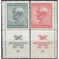 322-323./2/,KD, 150. výročí narození J.E.Purkyně,**,