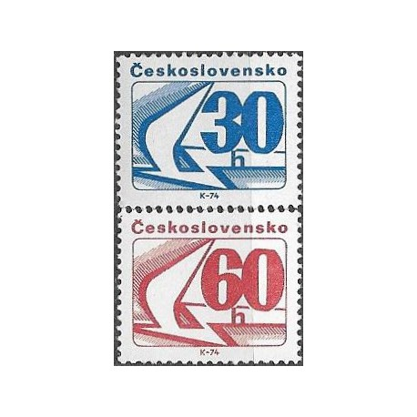 2120 - 2121./2/,pč, Svitkové výplatní známky,**,