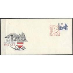 """COB,18b. Celostátní výstava poštovních známek BRNO 1966,o"""","""