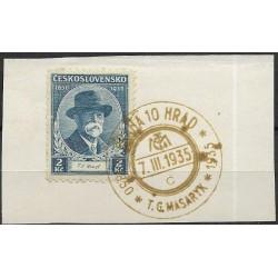 287.-35.064, 85. narozeniny T.G.Masaryka,o-,