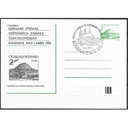 CDV,1992/90-2. Národní výstava Roudnice 1992,-o,