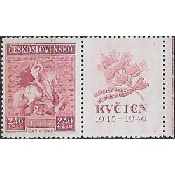 433-,KP, 1.výročí Květnového povstání,**,