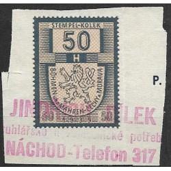 05. pčm,kolková známka 1939,o,
