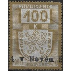 20. pčm,kolková známka 1939,o,