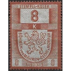 14. PČM,kolková známka 1939,**,