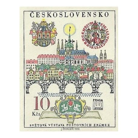 1694. 50.výročí vydání první československé známky ,**,