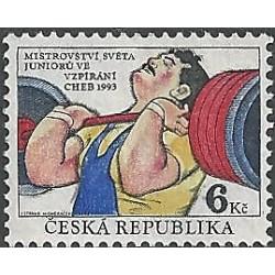 8.čtbl, Mistrovství světa juniorů ve vzpírání 1993, **,