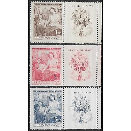 467- 469./3/,KP, XI. Všesokolský slet v Praze- alegorie,**,