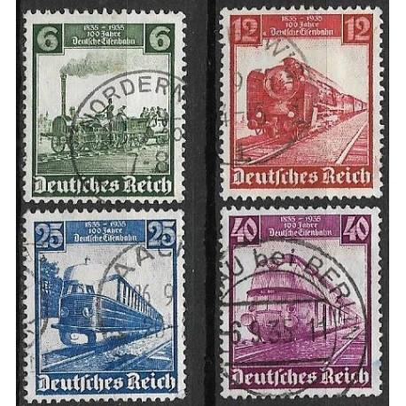 580- 583./4/, 100 let Německé železnice ,o,
