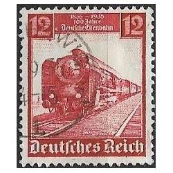 581- 100 let Německé železnice ,o,
