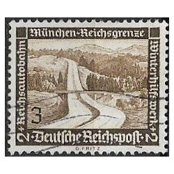 634- Německé moderní stavby- silnice ,o,