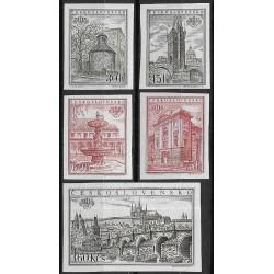 853- 857.b,/5/, Mezinárodní výstava známek PRAGA 1955,*,