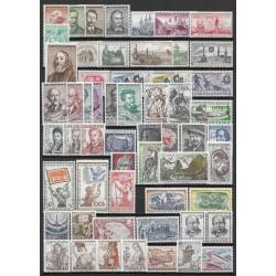 917- 974. /57/ ročník poštovních známek 1957, **,