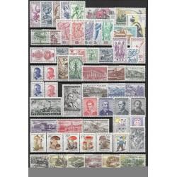 975- 1032. /60/ ročník poštovních známek 1958, **,