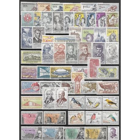 1033- 1091. /59/ ročník poštovních známek 1959, **,