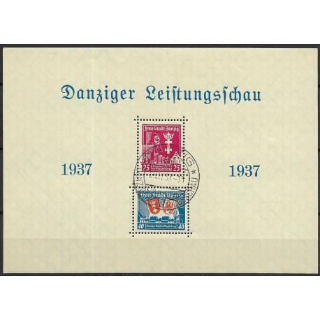 274- 275.Bl13  Danziger Leistungsschau 1937 ,o-,