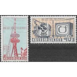 1309- 1310./2/, 10. výročí Československé teluvize,**,