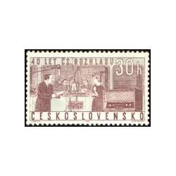 1311- 1312./2/, 40. výročí Československého rozhlasu,**,