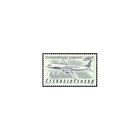 1313- 1314./2/, 40. výročí Československých aerolinií,**,