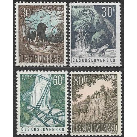 1324- 1327./4/, Moravský kras a Slovenský ráj,**,