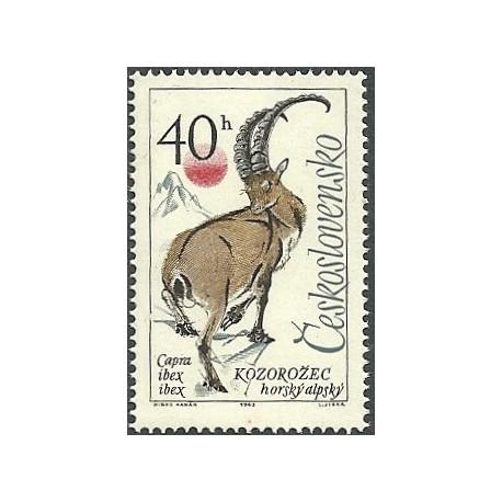 1348.- Zvířena, Kozoroh alpský,**,