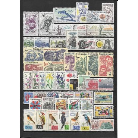 1356- 1408. /54/,1964, ročník poštovních známek , **,