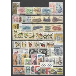 1497- 1579./81/,1966, ročník poštovních známek ,**,