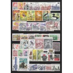 1580- 1654./73/,1967, ročník poštovních známek ,**,