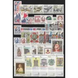 1655- 1740./83/,1968, ročník poštovních známek ,**,