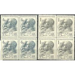 458-459./2/, 10. výročí úmrtí T.G.Masaryka,**,
