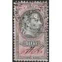212. ,Ö,kolková známka 1877,o,