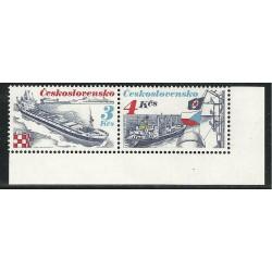 2888- 2889.,st,,DV3/1, Československá námořní plavba,**,