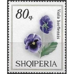 1360.- Albanie,  fialky,**,