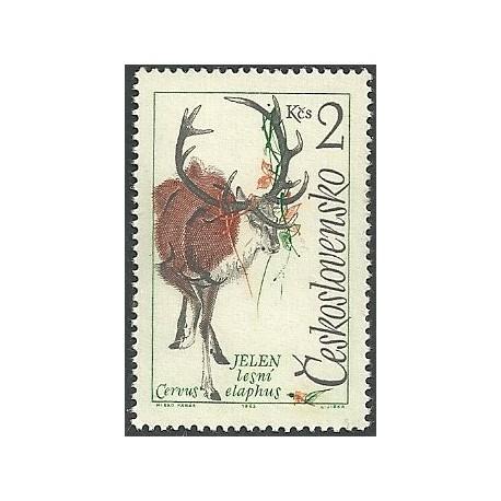 1352.- Zvířena- daněk,**,