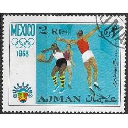 252- Olympijské sporty- MEXICO 1968 ,o,