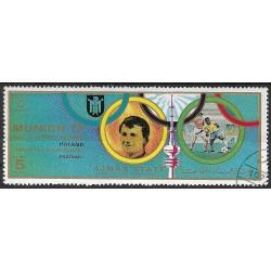 1592- Olympijské sporty- Mnichov 1972 ,o,