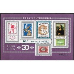 3059. Bl114, Nejúspěšnější maďarské známky za posledních 30 let ,**,