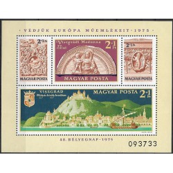 3064- 3067. Bl115, Visegrád ,**,
