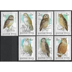 3725- 3731./7/, Draví ptáci,**,