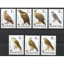 3624- 3630./7/, Draví ptáci,**,