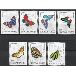 3681- 3687./7/, Motýli,**,
