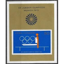 1797,Bl38, Olympiáda Mnichov 1972 ,**,