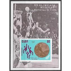1846,Bl40, XX. Olympiáda Mnichov 1972 ,**,