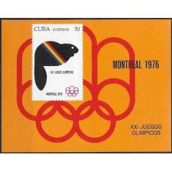 2142,Bl47, XXI. Olympiáda Montreal 1976 ,**,