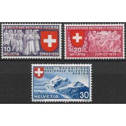 342- 343./3/, Švýcarská národní výstava ,**,