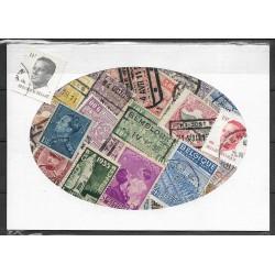 Belgie balíček poštovních známek 40.33. ,o,