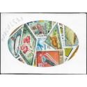 Mongolsko- balíček poštovních známek 25.25 ,o,