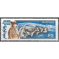 249.- 40. výročí, Mongolského hospodářstvá ,**.